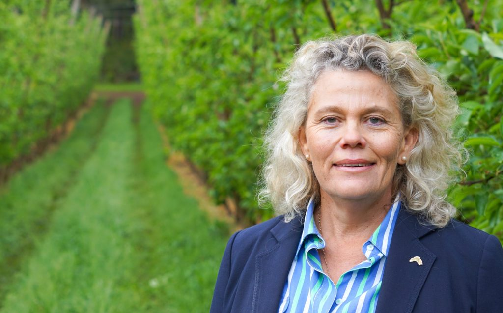 NFF President Fiona Simson